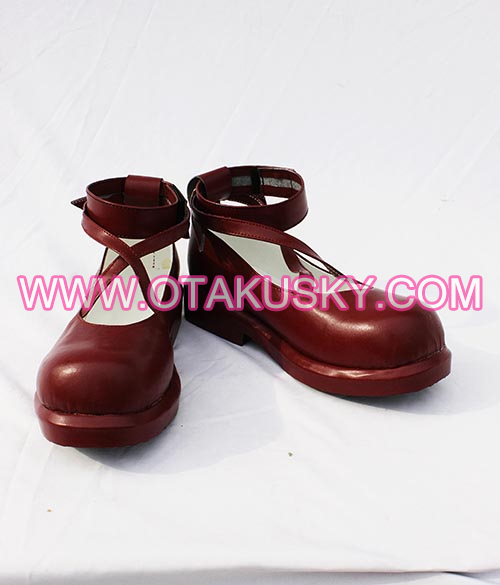 Aria The Scarlet Ammo Riko Mine Cosplay Shoes