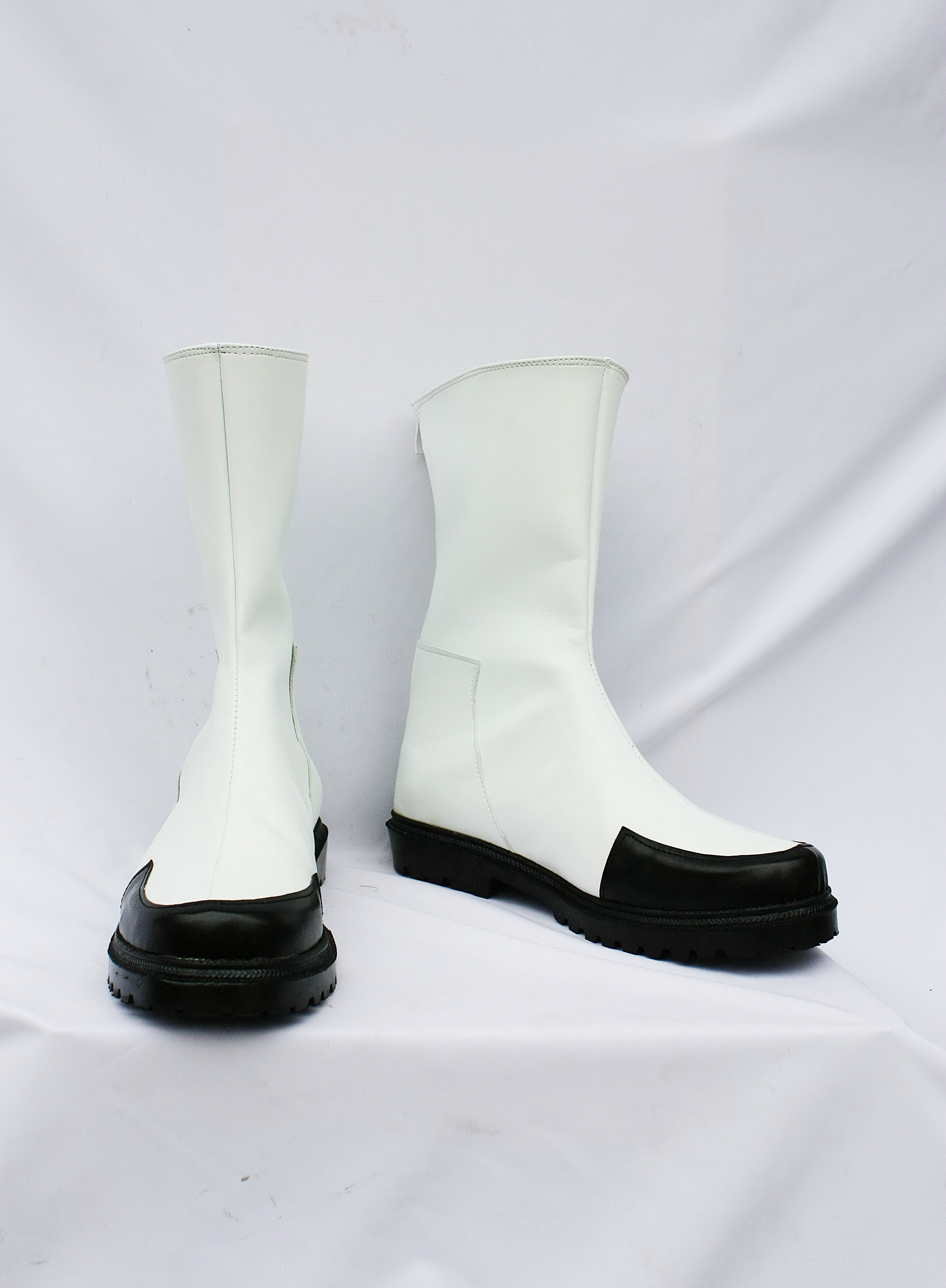 Outlaw Star White Cosplay Shoes