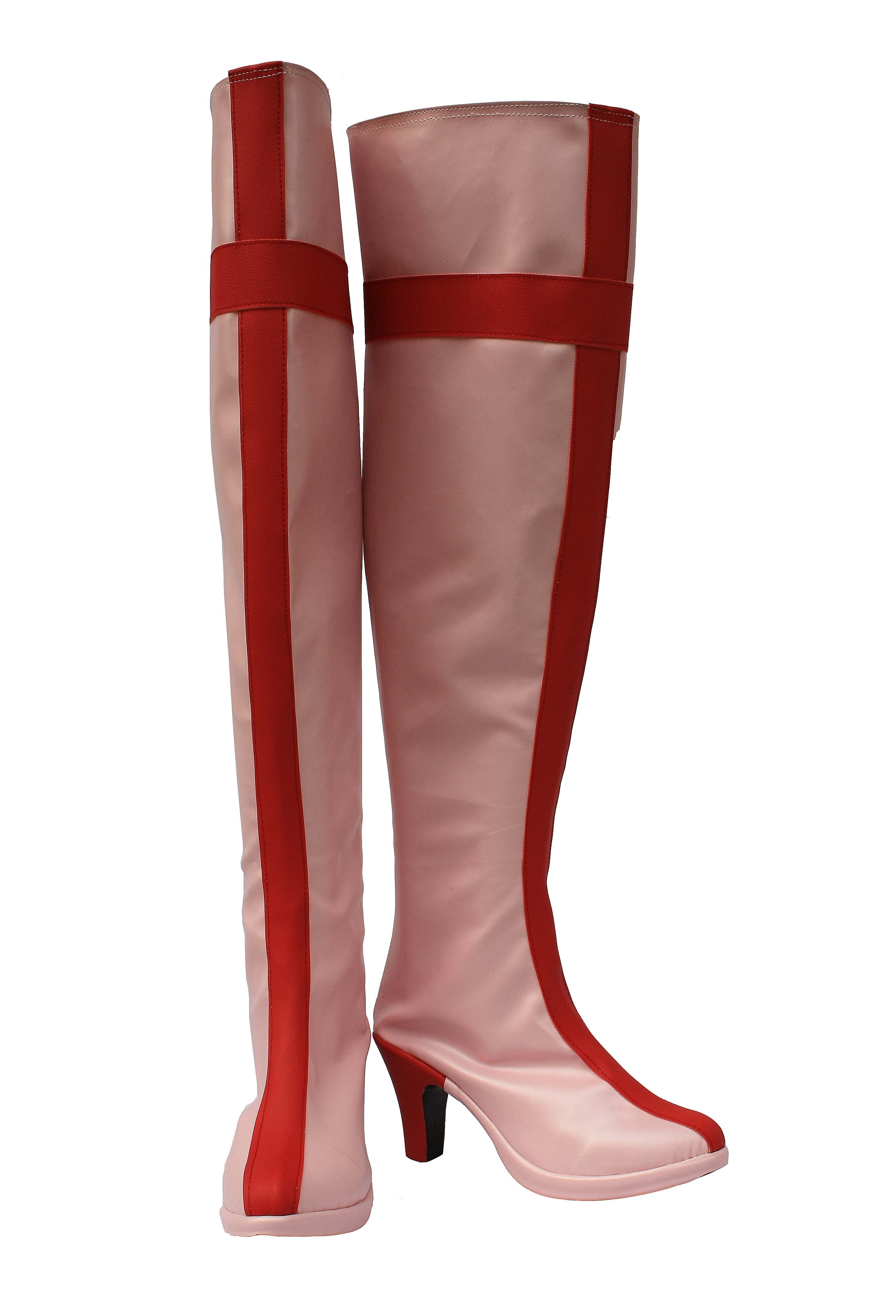 Pink Cosplay Boots