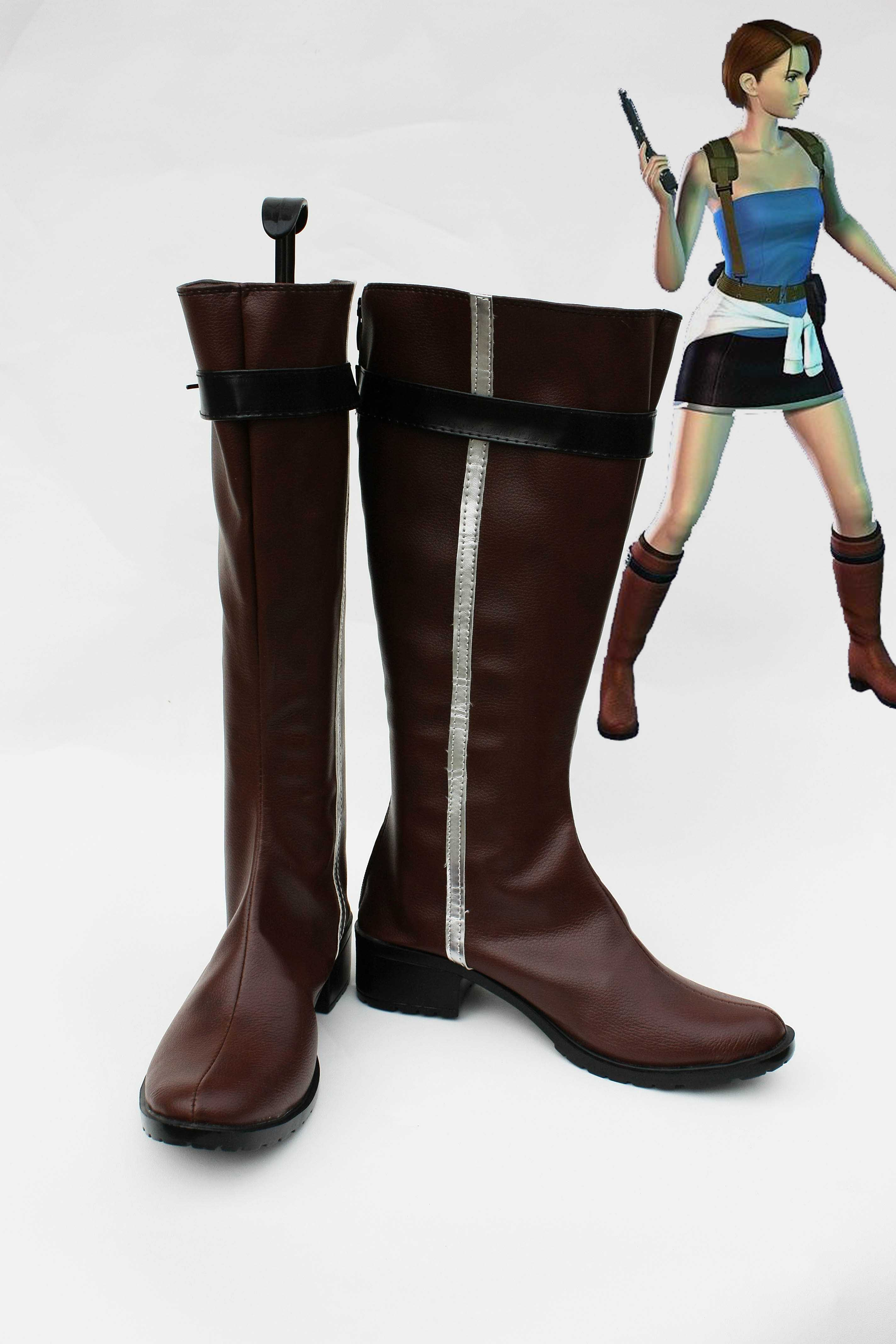 Resident Evil Jill Valentine Cosplay Boots