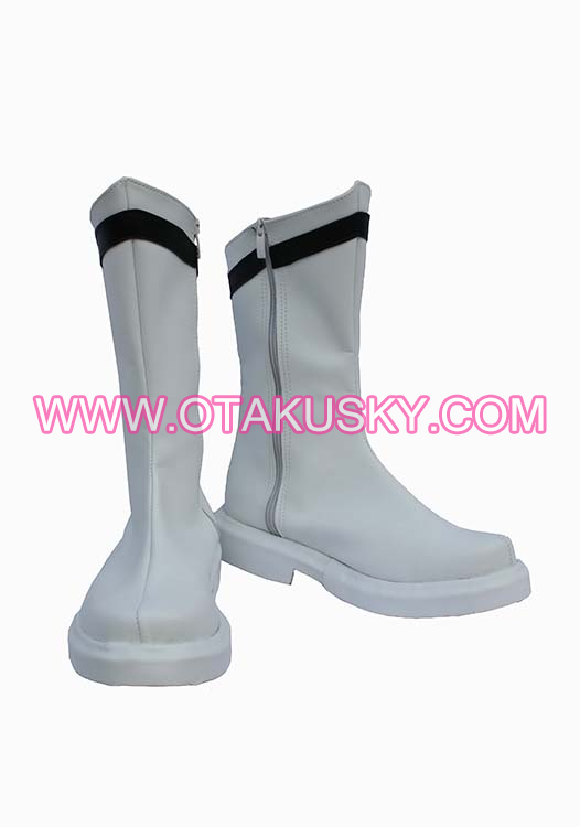 Ultraman White Cosplay Shoes