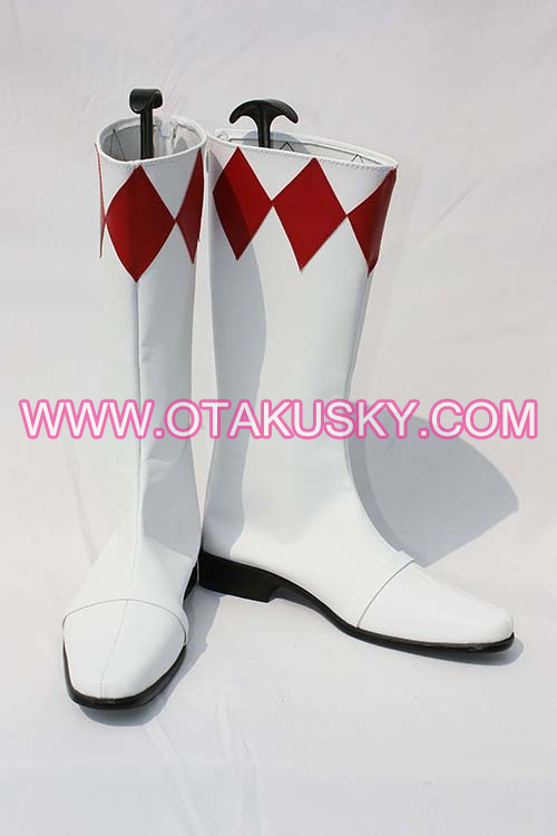 White Cosplay Boots 12