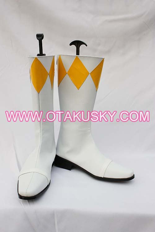 White Cosplay Boots 13
