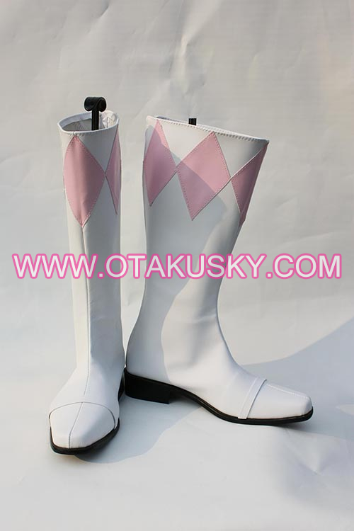 White Cosplay Boots 14