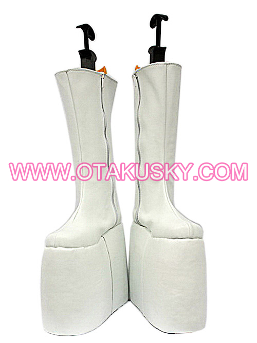 White Cosplay Boots 10