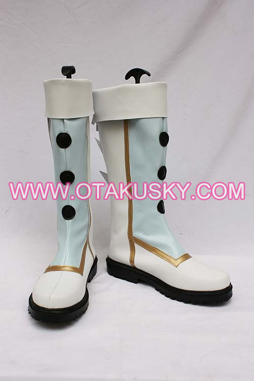 White Cosplay Boots 11