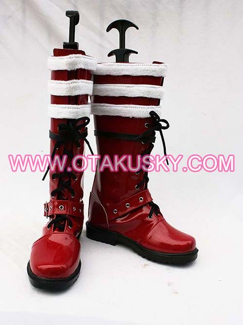 Blue Exorcist Rin Okumura Cosplay Boots 03